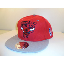 Bone Chicago Bulls Snapback ,importado Via Europa Frete15,00