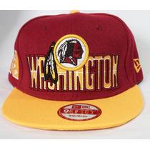 Boné New Era Aba Reta Snapback Washington Redskins Nfl