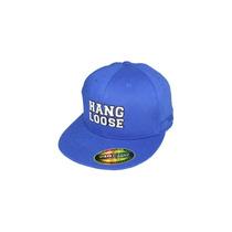 Boné Hang Loose Lonos Flexfit Importado Azul