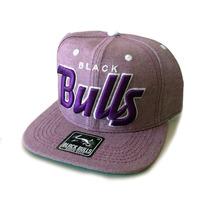 Boné Black Bulls Rosa Aba Reta Snapback Cap Qualidade Máxima