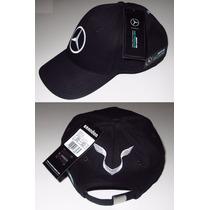 Boné Mercedes Hamilton Petronas Fórmula 1 Oficial Aba Curva