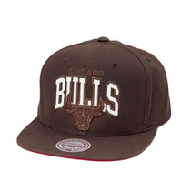 Boné Mitchell And Ness Snapback Chicago Bulls Brown
