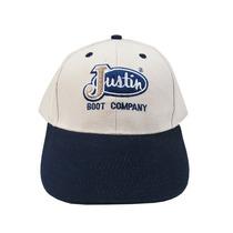 Boné Justin Creme/azul