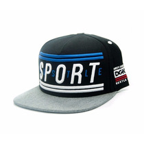 Boné Dgk Hustle Sport Black Snapback Skate - Pronta Entrega