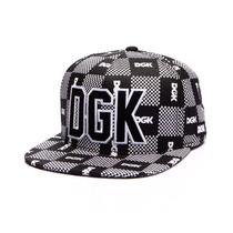 Boné Dgk Checkers Snapback Cap Skate Importado