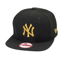 Boné New Era Strapback Original Fit New York Yankees Preto