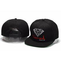 Boné Aba Reta Diamond Supply Co Snapback Og Sign Preto