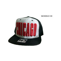 Boné Black Bulls Chicago Preto / Moletom Aba Reta Snapback