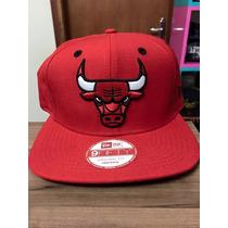 Boné Snapback New Era Chicago Bulls Vermelho