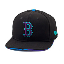 Boné New Era Snapback Original Fit Boston Red Sox Aqua Hook