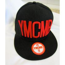 Boné Aba Reta Smapback Ymcmb 100% Original Pronta Entrega