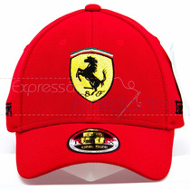 Boné Trucker Ferrari Bordados Perosonalizados Tomflex L-flex