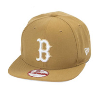 Boné New Era Snapback Original Fit Boston Red Sox Wheat
