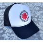 Boné Red Hot Chili Peppers Rhcp Modelo Trucker Telinha
