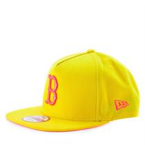 Boné New Era 9fifty Snapback A Frame Mlb Boston Red Sox Amar