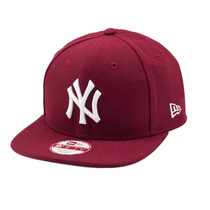 Boné New Era Strapback Original Fit New York Yankees Bordô