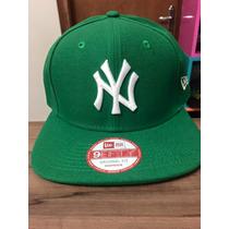 Boné New Era Snapback Ny Yankees Verde