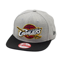 Boné New Era Snapback Original Fit Cleveland Cavaliers Cinz