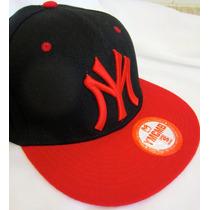 Boné New York Yankees 100% Original Fit Snapback Aba Reta