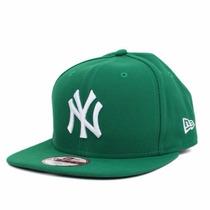 Boné New York Yankees Verde Original Fit Snapback Aba Reta