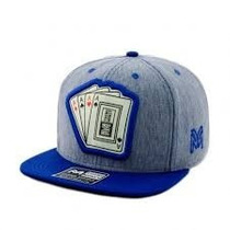 Boné Aba Reta Young Money Strapback Cartas Original