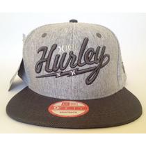 Boné Hurley Snapback Sb Aba Reta Lançamento Frete Gratis!!