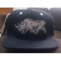 Boné Preto Ecko Unltd Original Fechado -aba Reta Rinoceronte