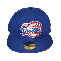 Boné New Era Aba Reta Fechado 5950 Nba Los Angeles Clippers