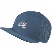 Boné Snapback Nike Sb Performance Pro Trucker Blue, Imediato