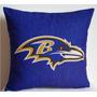 Almofada Futebol Americano Nfl Baltimore Ravens