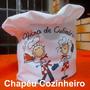 Chapéu Cozinheiro Mestre Cuca Personalizado Bandana
