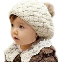 Boina Menina Gorro Infantil Touca Chapéu