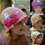 Chapéu Para Bebê Menina Ou Menino Em Crochê