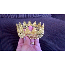 Coroa Dourada (kit Com 2 Unidades) Bebes Newborn Fotografias