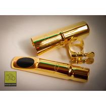 Boquilha Metal Sax Tenor Jazz C/ Peixe Repl Selmer Jazz Nova