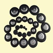 Sapatilhas Para Sax Alto - Ressonador De Metal - Pretas