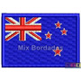 Bordado Termocolante - Bandeira Países - Nova Zelândia 7x4,5
