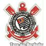 Patch Bordado Peq. Escudo Futebol Timão Corinthians 5cm Tmp5
