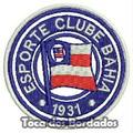Patch Bordado Peq. Escudo Esporte Clube Bahia 5cm Tmp3