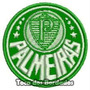 Patch Bordado Escudo Do Verdão Palmeiras Sp Peq. 5cm Tmp36