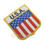 Bein006 Bandeira Estados Unidos Eua 6,8x7,5cm Patch Bordado