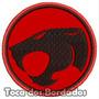 Patch Bordado Thundercats Olho De Tandera 7cm Per28