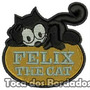 Patch Bordado Infantil Personagem Gato Felix 6cm Per1