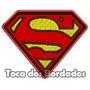 Patch Bordado Personagem Supermen Super Homem 6,5cm Per44