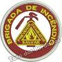 Bordado Brigada Incêndio 7cm Previnir Combater Salvar Prf85