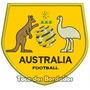 Patch Bordado Copa Escudo Seleção Austrália 9x9,5cm Sel45