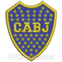 Tiar016 Escudo Boca Juniors Argentina Patch Bordado 5,9x7 Cm