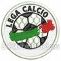 Tpc005 Lega Calcio 1998 À 2003 Itália Tag Patch Bordado 6 Cm