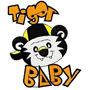B88 Coleção Bordados Computadorizados Tigor Tigre Baby