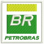 Bordado Termocolante Logo Marca Br Petrobras Patch Car45